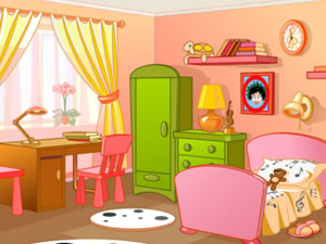 Cartoon Kids Rooms