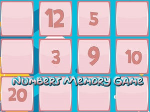 Memory Game With Numbers