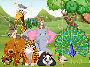 Wild Animals Jigsaw
